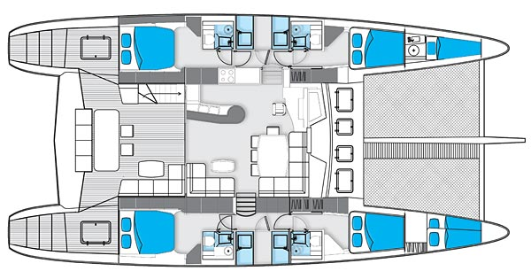 Sunreef 62 Floor Plan