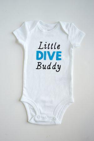 Scuba Diving Baby Onesie