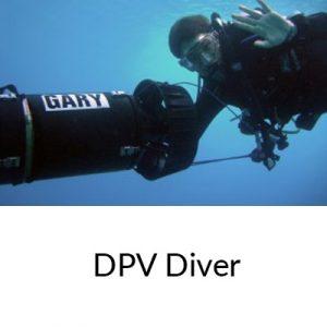 PADI DPV Diver