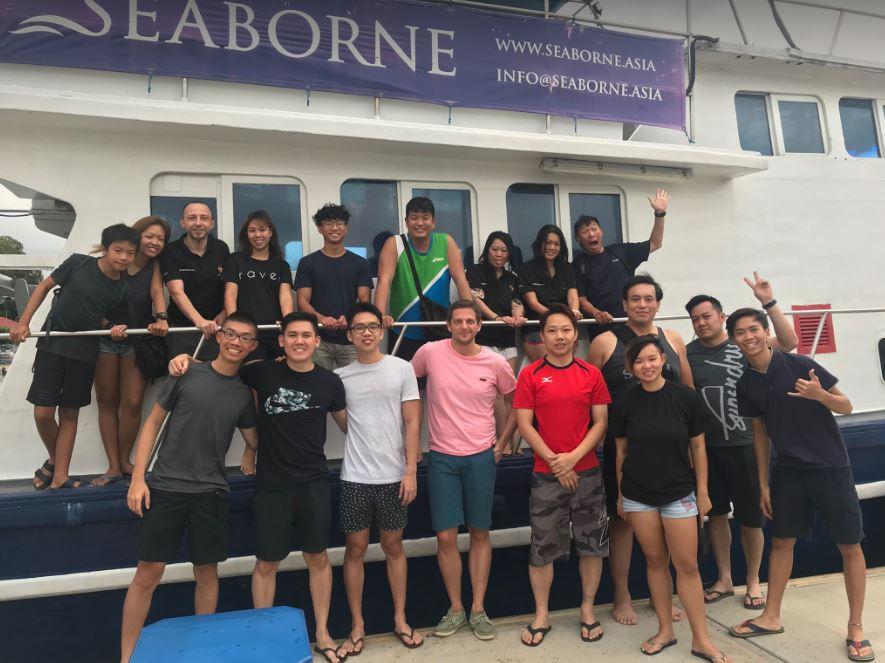 Diving Bintan